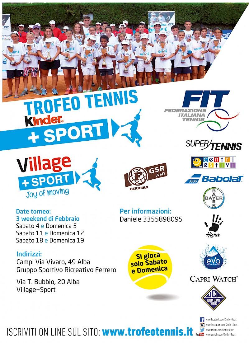 Trofeotennis It Calendario Tornei.Village Sport Trofeo Tennis Fit Kinder Sport